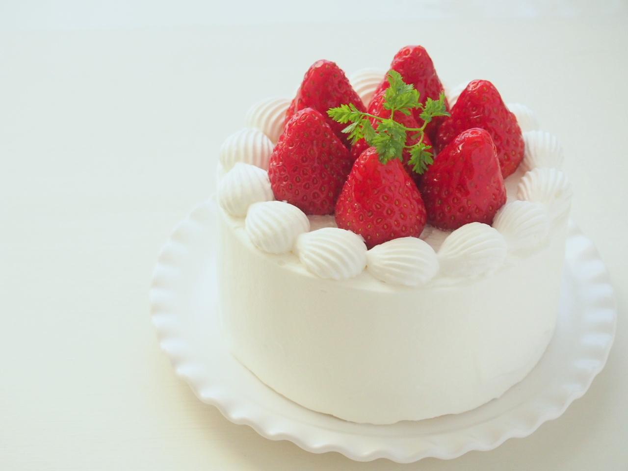 ショート ケーキ デコレーション